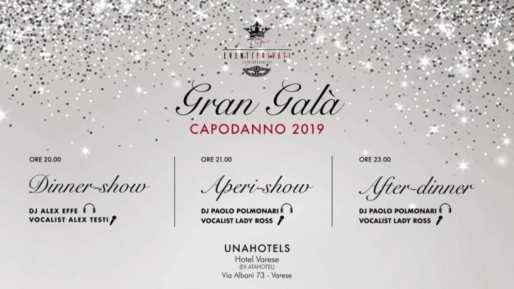 Capodanno UnaHotels Gran Gala Varese Foto